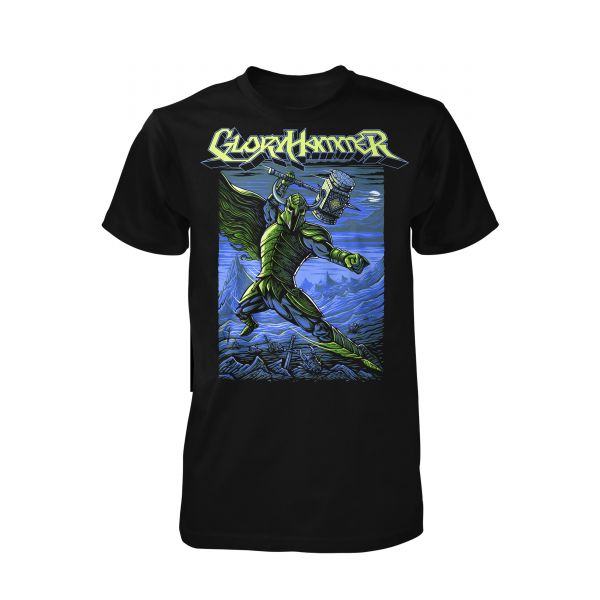 Gloryhammer Laser Power Goblin Smasher | T-Shirt
