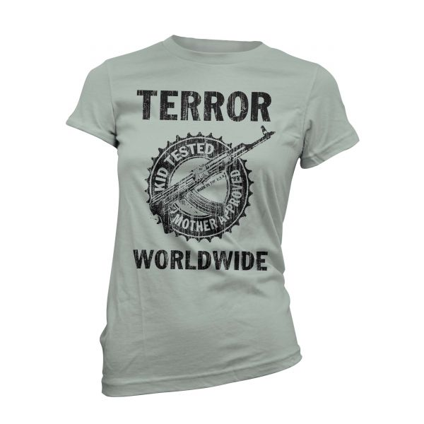 Terror Worldwide Kid Tested Vintage | Girly T-Shirt
