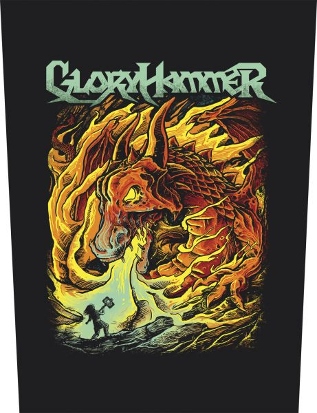 Gloryhammer Hail to the Hoots | Backpatch