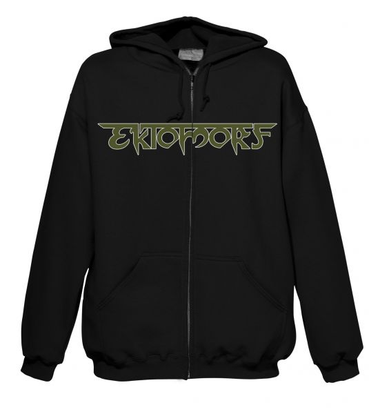 Ektomorf Ektomorf - Green Logo Hood-Zip