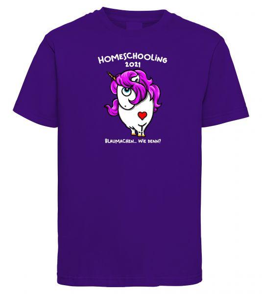 Art Worx Homeschooling Blaumachen | Kinder T-Shirt