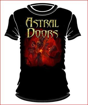 Astral Doors Worship or die | T-Shirt