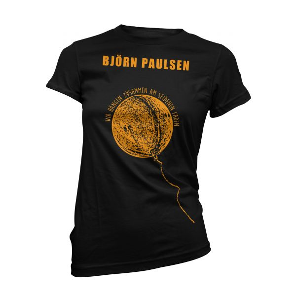 Björn Paulsen Ballon Orange | Girly T-Shirt