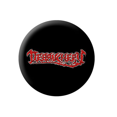 Debauchery Chainsaw Logo Button