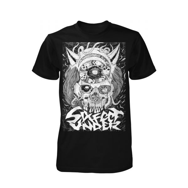 Six Feet Under Skull | T-Shirt