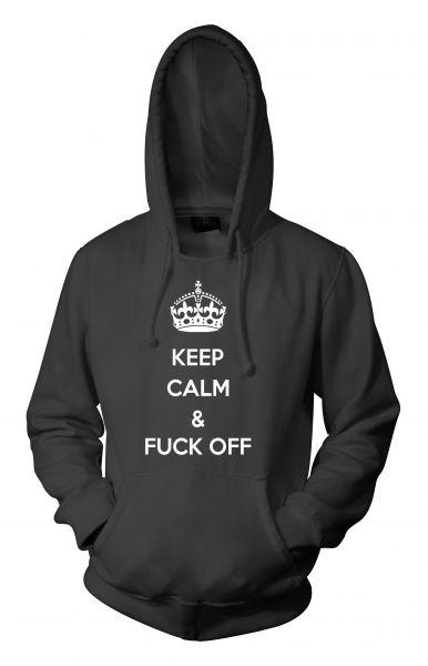 Rock Style Keep Calm & Fuck Off