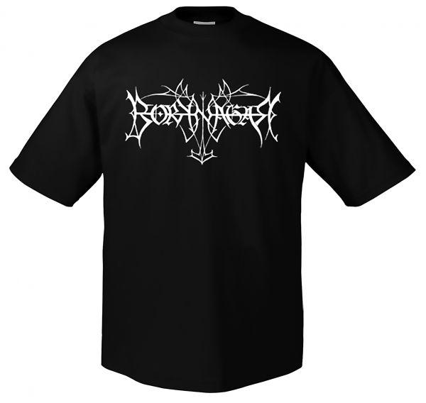 Borknagar White Logo | T-Shirt