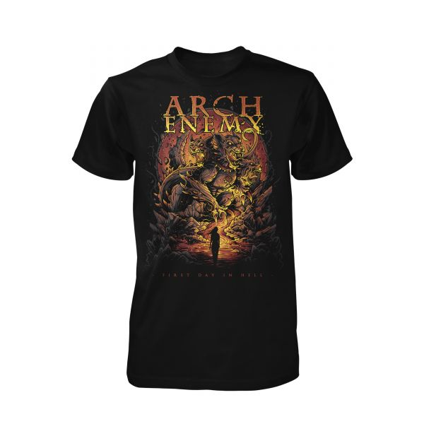Arch Enemy First Day In Hell | T-Shirt