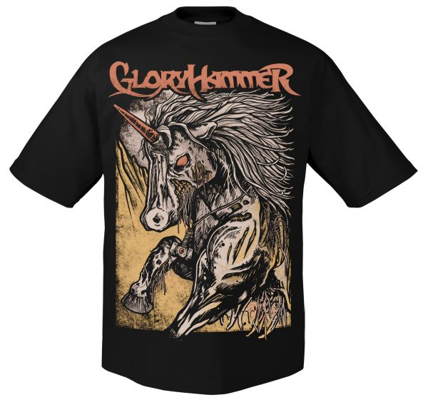 Gloryhammer Zombie Unicorn