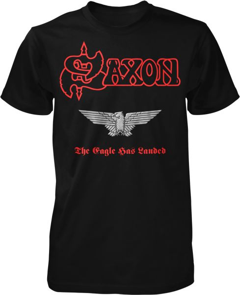 Saxon The Eagle Has Landed (Red Logo)