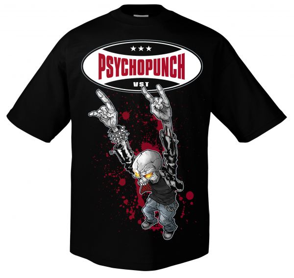 Psychopunch Psychopunch - Skeleton T-Shirt