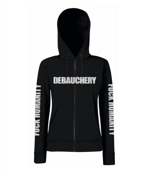 Debauchery Debauchery - Fucking Humanity Gray Girly Zip