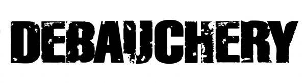 Debauchery Logo Heckscheibenkleber