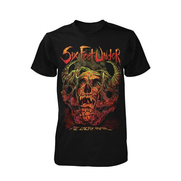 Six Feet Under The Enemy Inside | T-Shirt