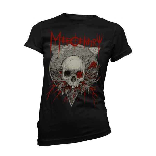 Mercenary Ashes Of The Fallen | Girly T-Shirt
