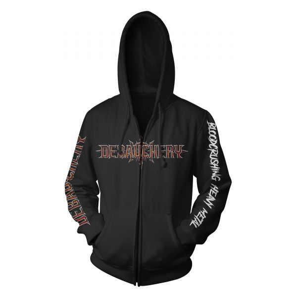 Debauchery Bloodcrushing Heavy Metal | Hood-Zip