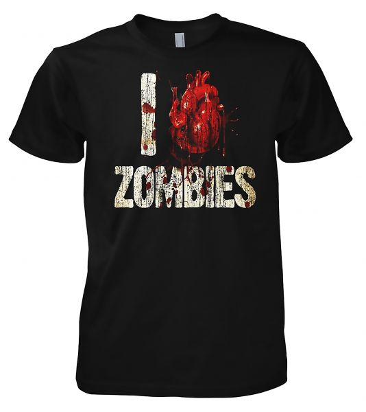 I Love Zombies I Love Zombies T-Shirt