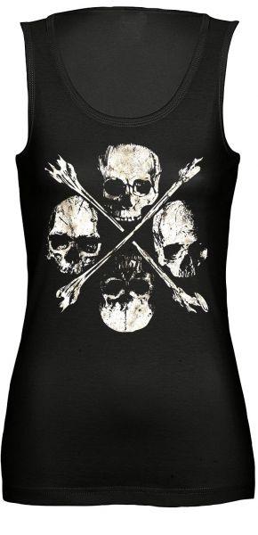 Rock & Style Four Skulls