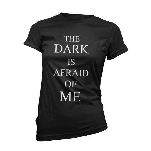 Art Worx The dark is afraid of me