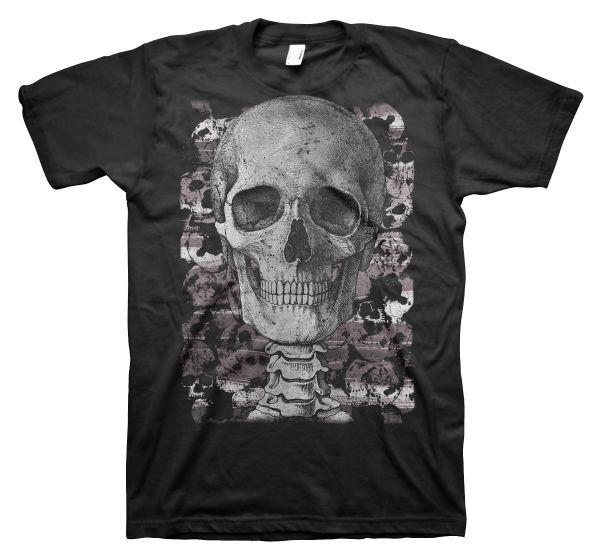 Rock & Styles Engraving Skull
