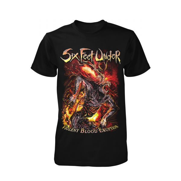 Six Feet Under Violent Blood Eruption | T-Shirt