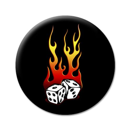 Art Worx Flaming Dice