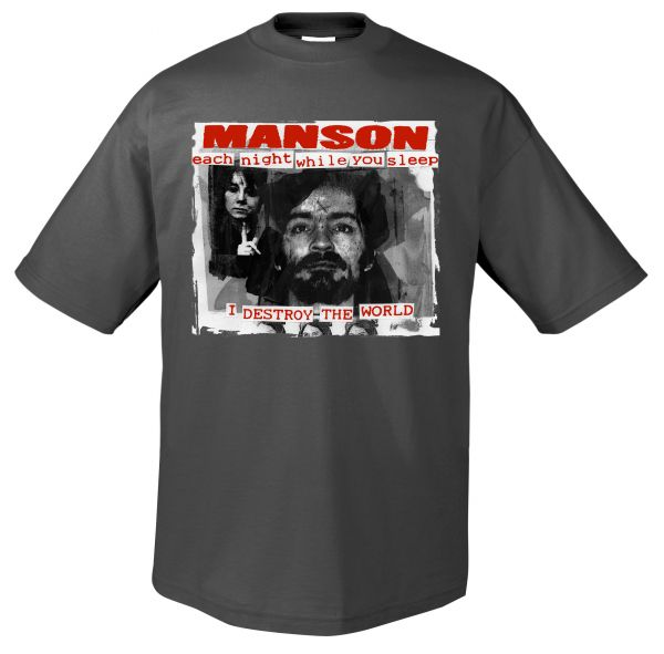 Terror Worldwide Manson | T-Shirt