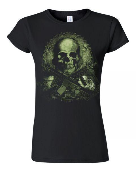 Rock & Style Gun Skull