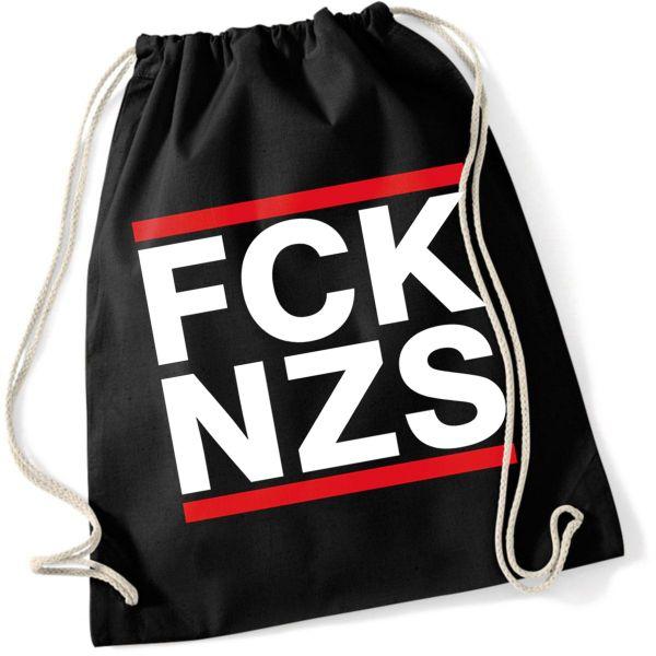 Politik FCK NZS Fuck Nazis Protest Turnbeutel