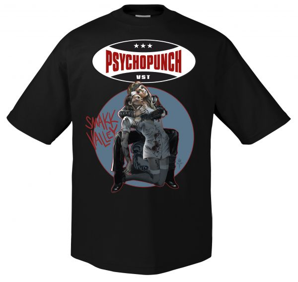 Psychopunch Psychopunch - Smakk Valley T-Shirt
