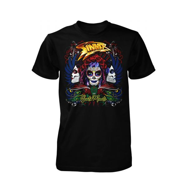 Sinner Santa Muerte Color | T-Shirt