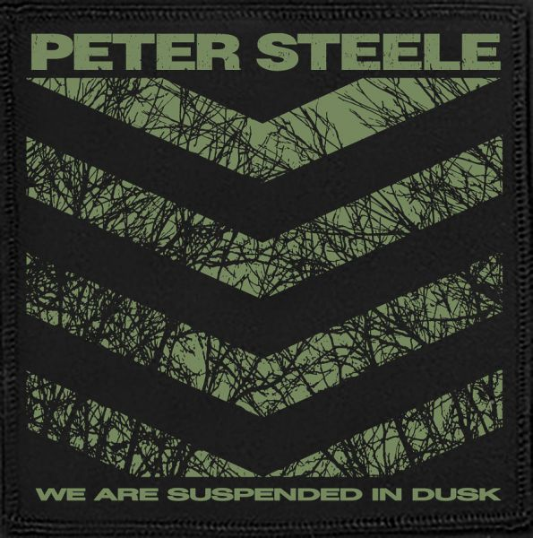 Peter Steele We are suspended Patch 12 x 10cm