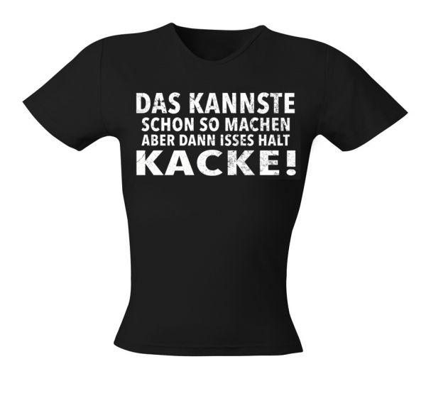 Art Worx Kacke Girly T-Shirt
