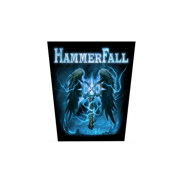 Hammerfall Second To One | Backpatch
