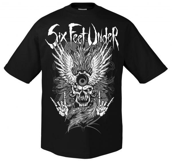 Six Feet Under Six Feet Under - Biker T-Shirt