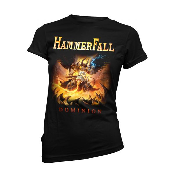 Hammerfall Dominion | Girly T-Shirt