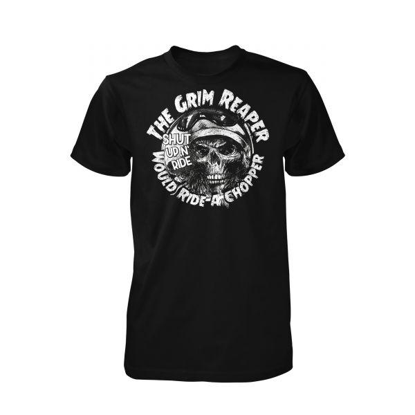 Art Worx Grimreaper would ride a shopper | T-Shirt