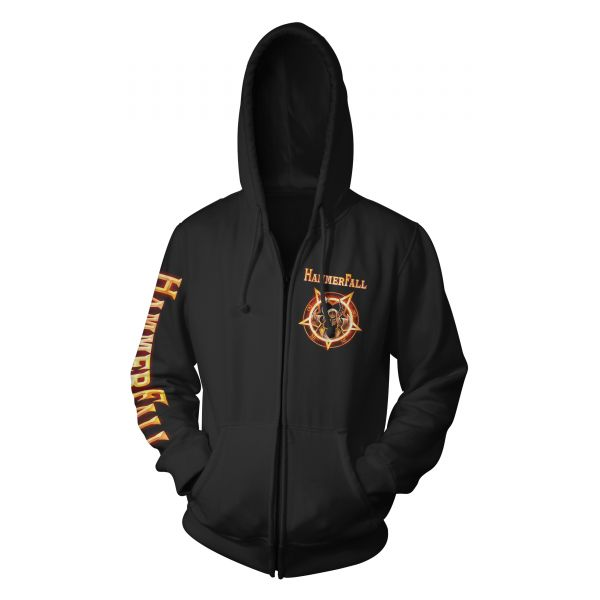 Hammerfall Dominion World Tour | Hood-Zip