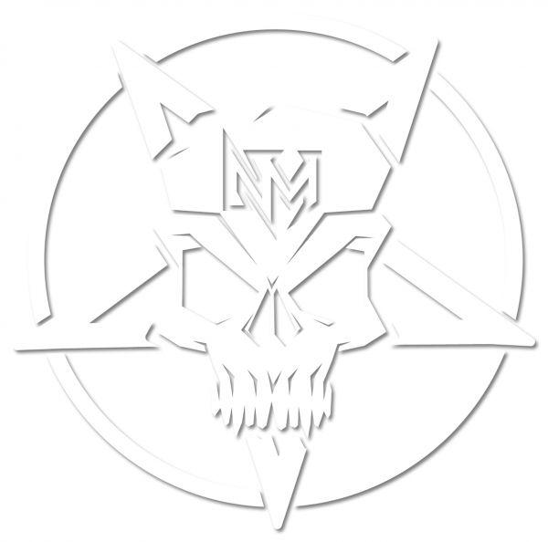 Nevermore Skull Logo