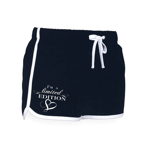 Art Worx Limited Edition WRS Schwarz | Women Retro Shorts
