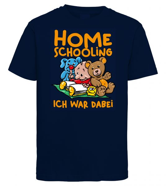 Art Worx Homeschooling Ich war dabei | Kinder T-Shirt