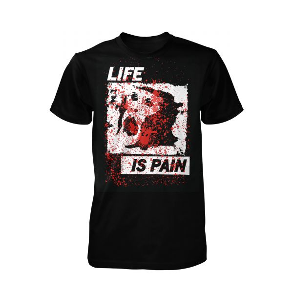 Terror Worldwide Life is Pain   T-Shirt