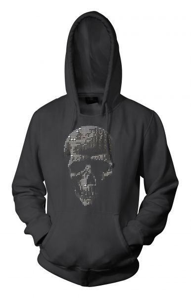 Rock Style Mosaic Skull
