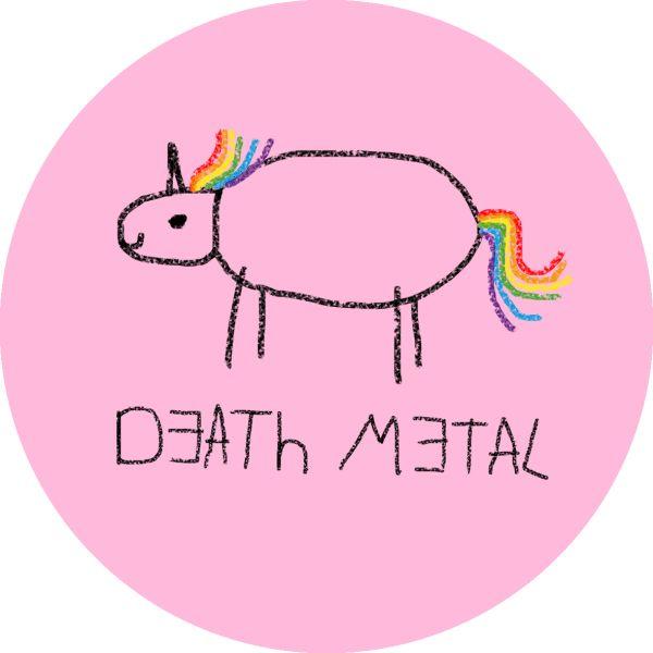 Death Metal Unicorn Death Metal Unicorn Patch