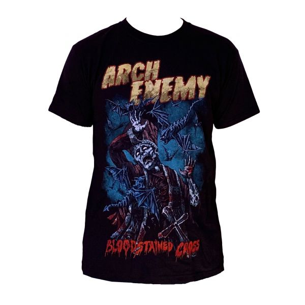 Arch Enemy Bloodstained Cross TS | T-Shirt