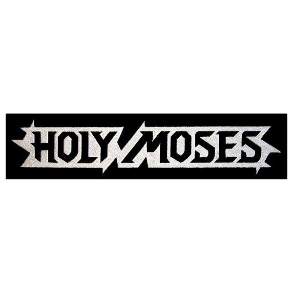 Holy Moses 17 x 5 cm Logo