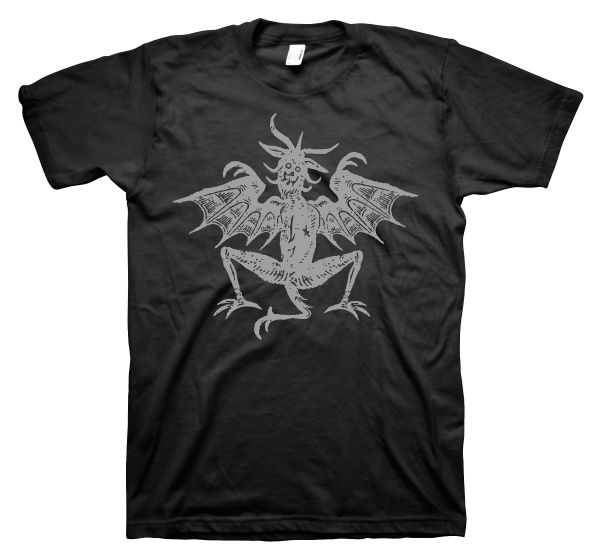 Rock Style Woodcut Devil