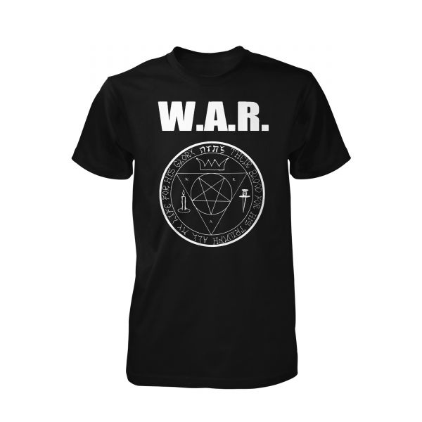 WAR Pentagramm White | T-Shirt