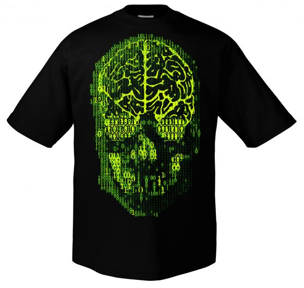Art Worx Binary Skull