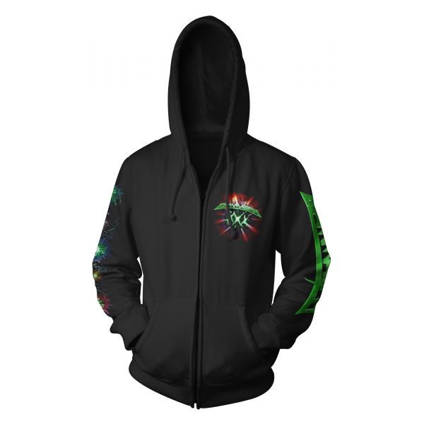 Gamma Ray 30 Years Green Logo | Hood-Zip